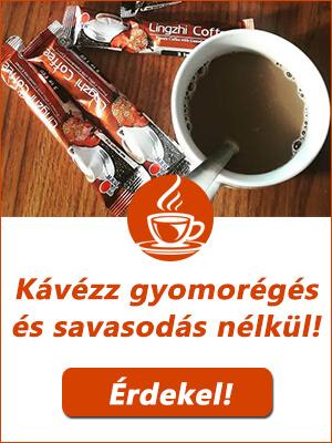 Lúgosító ganoderma kávé
