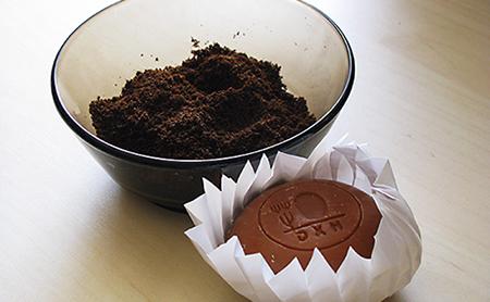 Kávézaccos bőrradír és ganodermás szappan