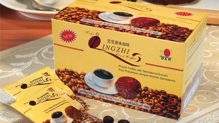 Lingzhi Black Coffee paleo kávé
