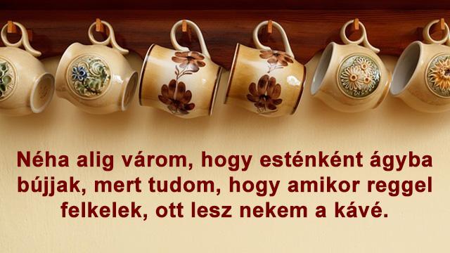 Reggeli kávé idézetek