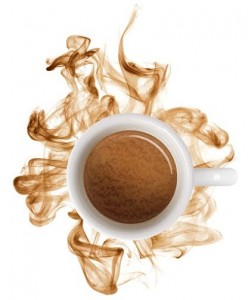 Barista kávé