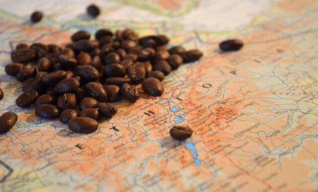 Kávétermelő országok Afrikában