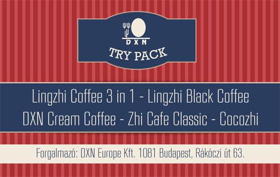 DXN Try Pack kávé csomag