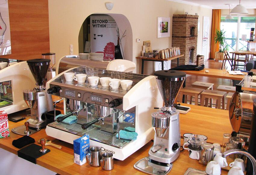 Latte art képzés: Barista Campus helyszín