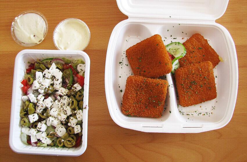 Ebédelés a Barista Campuson