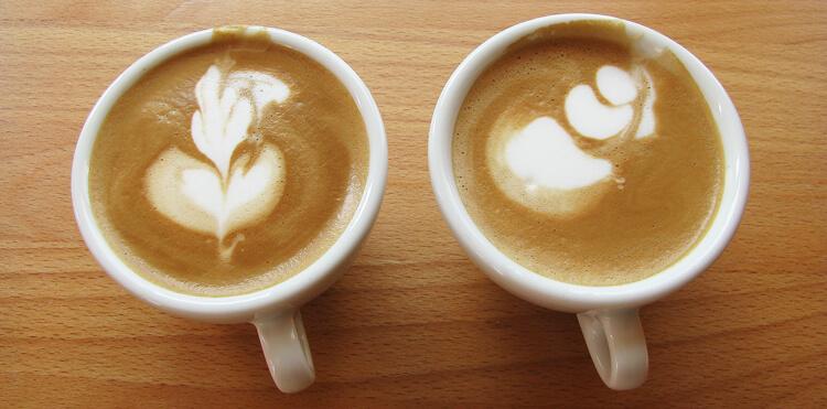 Latte art képzés: Latte art tulipán kezdetben