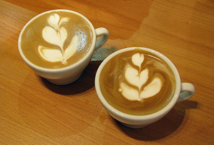 Latte art képzés: Latte art tulipán a nap végén