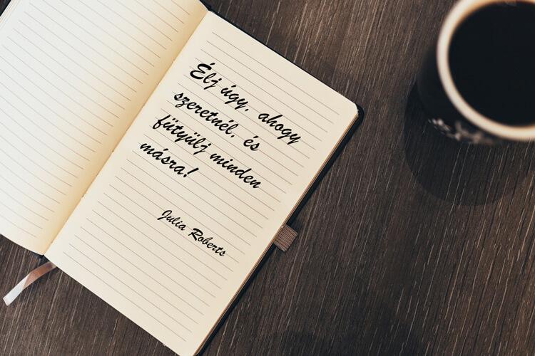 Idézetek kávé mellé: Julia Roberts
