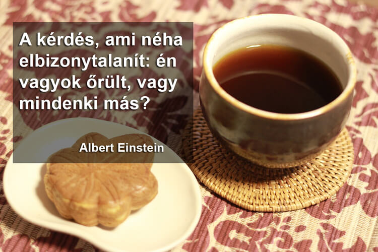 Idézetek kávé mellé: Albert Einstein