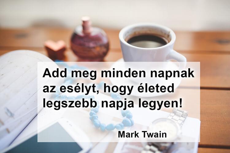 Idézetek kávé mellé: Mark Twain