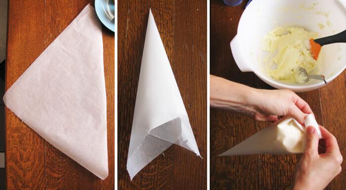 Habzsák sütőpapírból