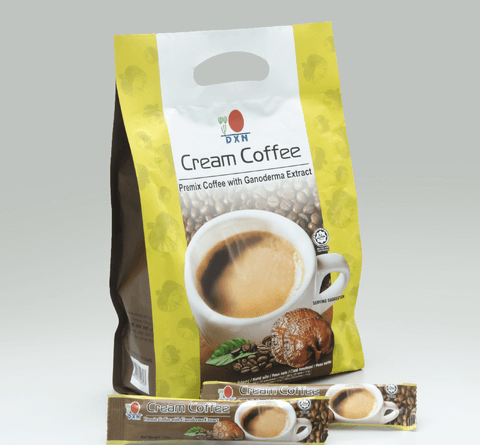 DXN Cream Coffee ganoderma kávé