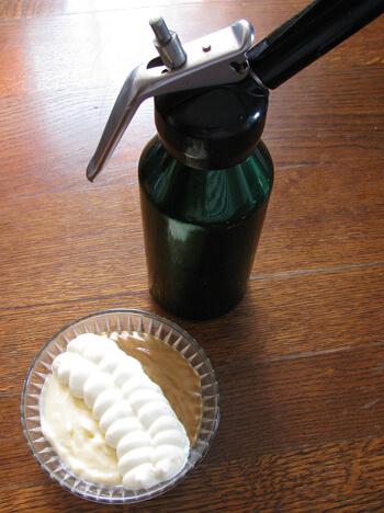 Kávépuding habszifonnal