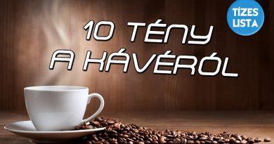Tízes lista a kávéról, 10 tény a kávéról