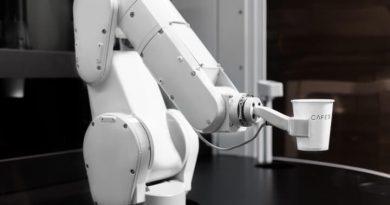 Robot kávézó, Cafe X
