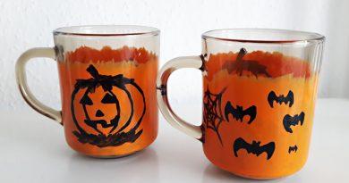 Halloween kávés pohár
