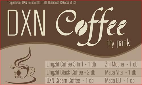 DXN Coffee Try Pack vásárlás